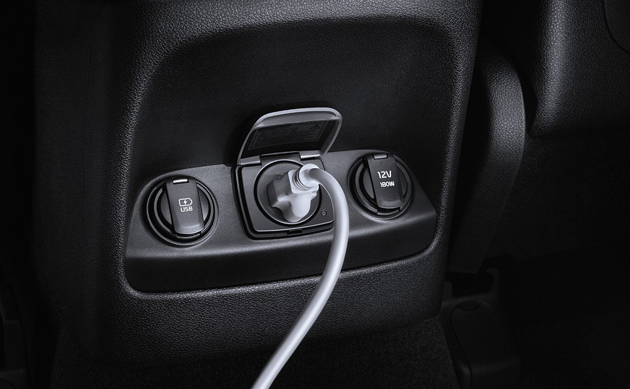 Charge Any Tech Items Conveniently While Cruising in the Sorento!