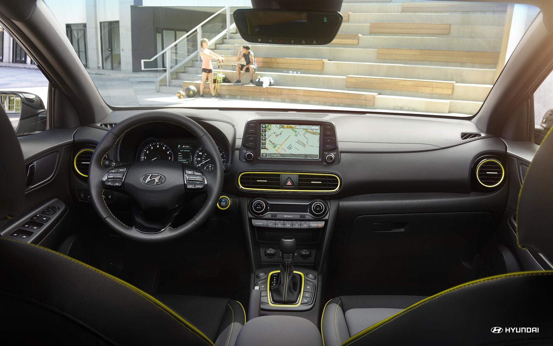 2019 Hyundai Kona Center Console