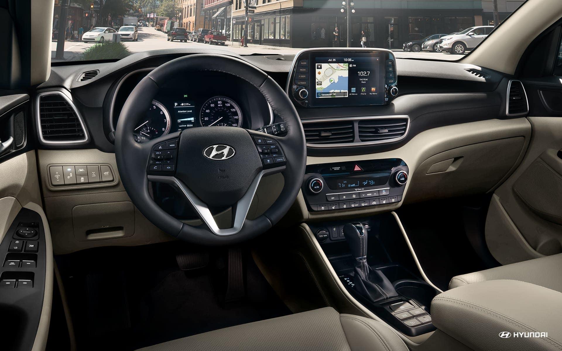 2019 Hyundai Tucson Center Console