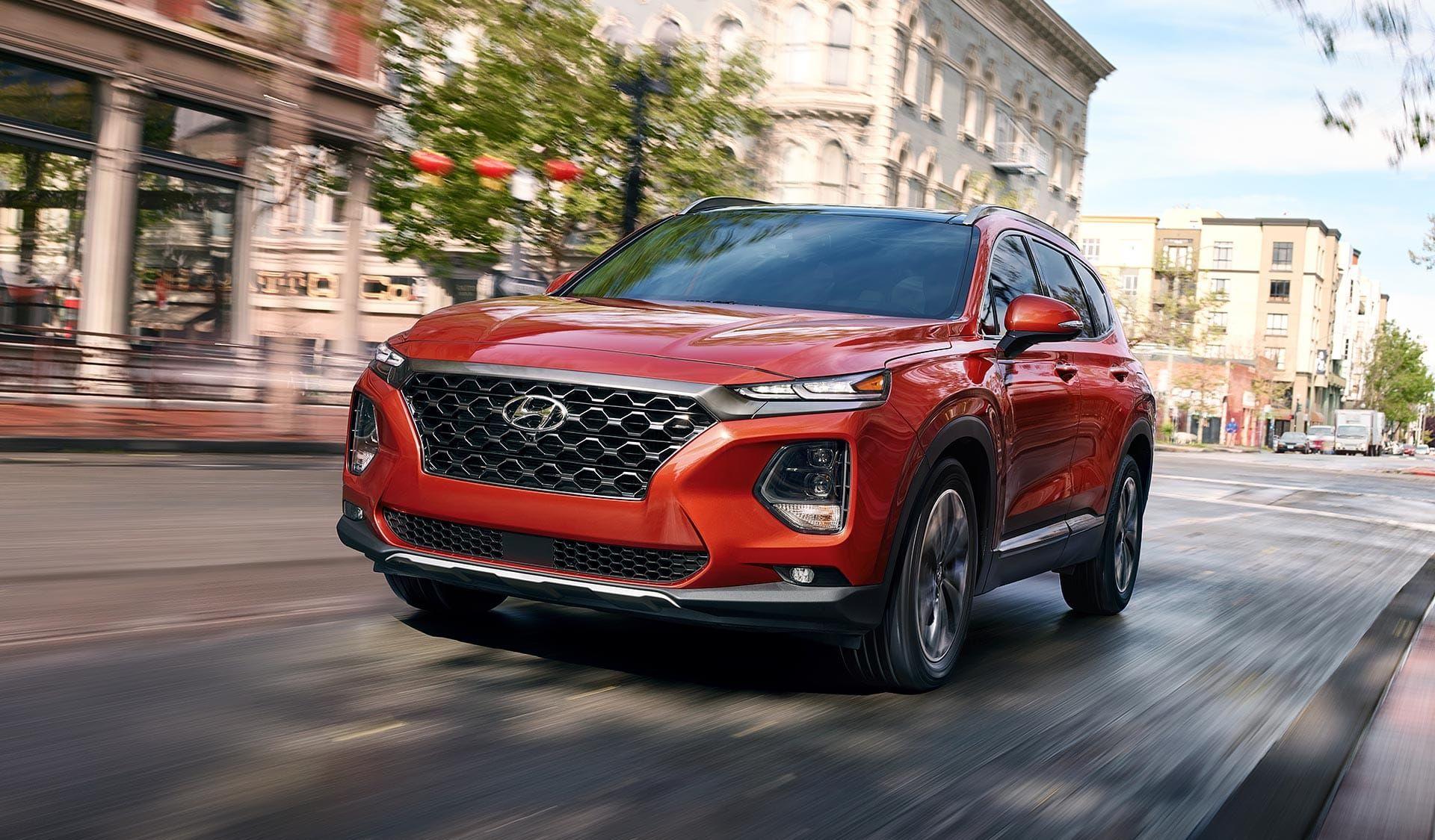 2019 Hyundai Santa Fe Leasing near Alexandria, VA