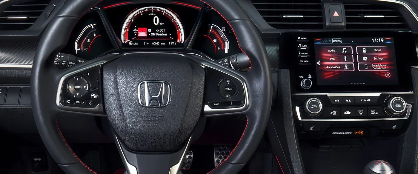2019 Civic Cockpit