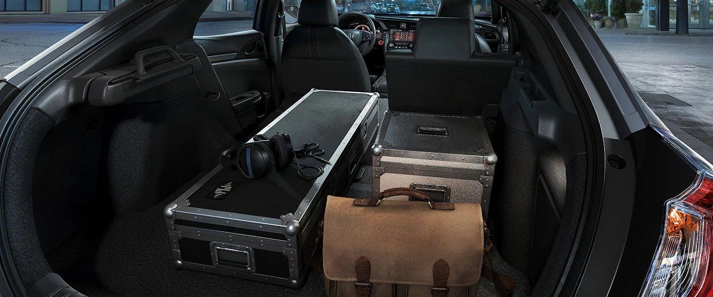 2019 Civic Hatchback Storage Space