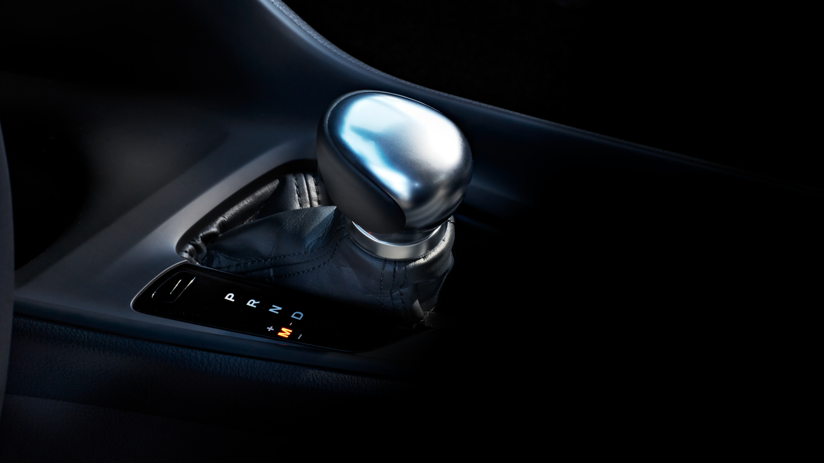 2019 Toyota C-HR's Leather-Wrapped Shift Lever