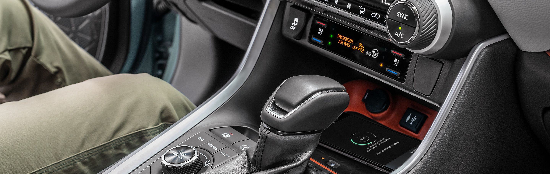 2019 Toyota RAV4 Center Console