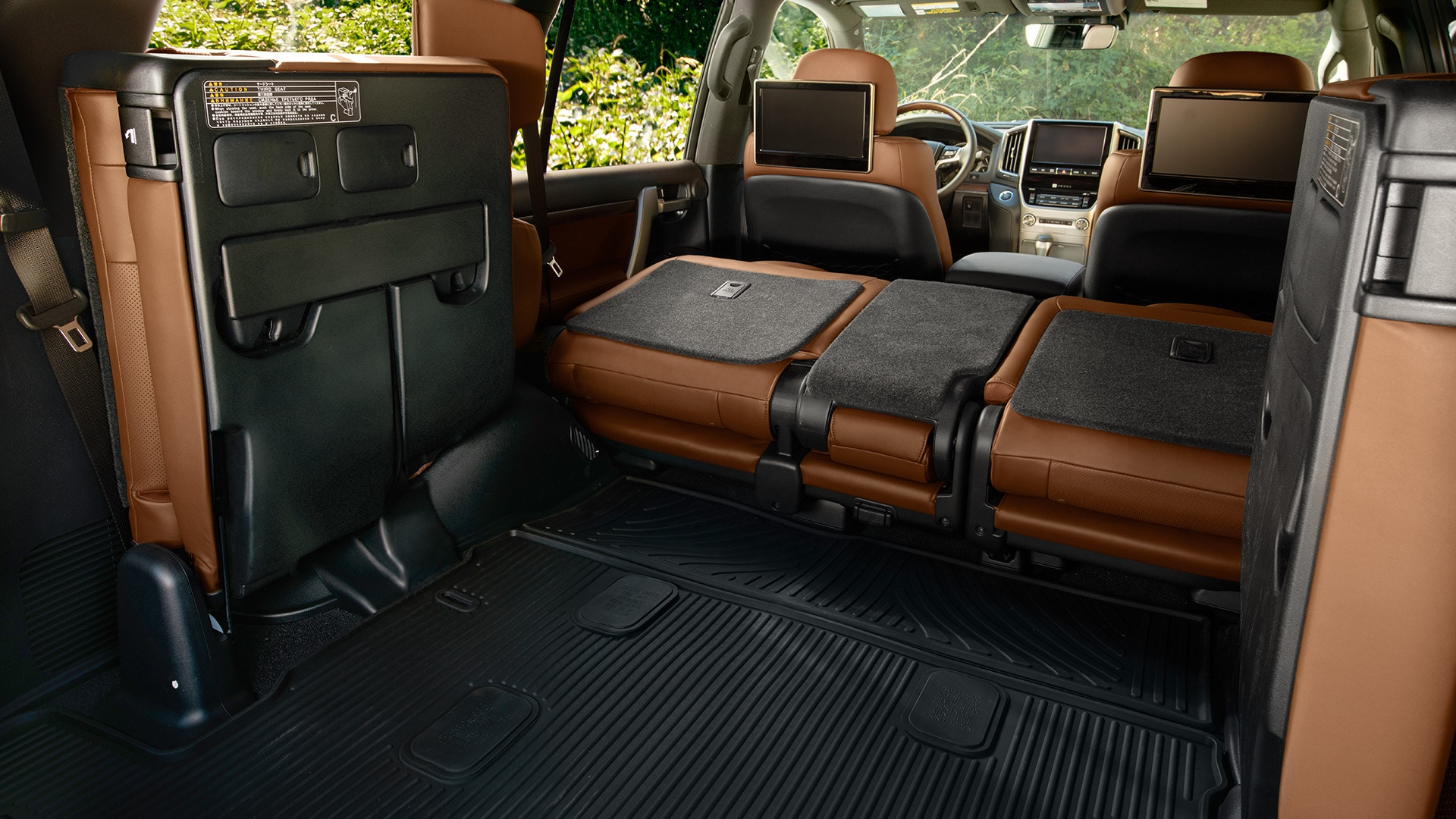 2019 Toyota Land Cruiser Seating Configurations