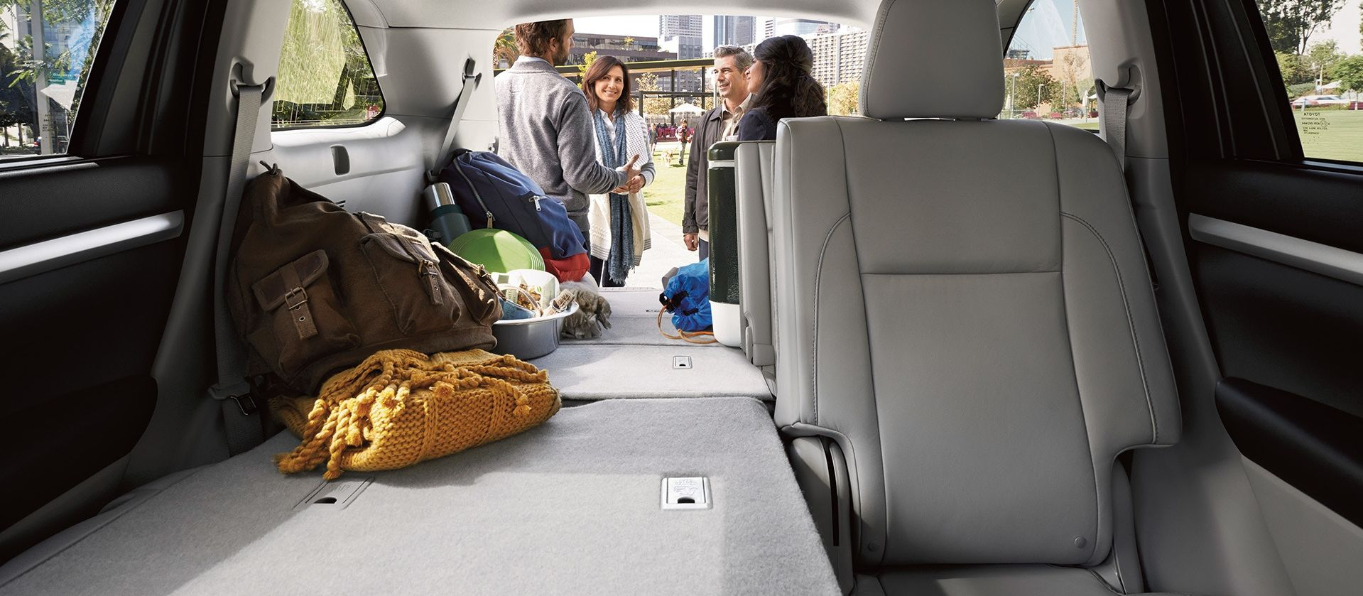 Tons of Storage Capacity in the 2019 Toyota Highlander