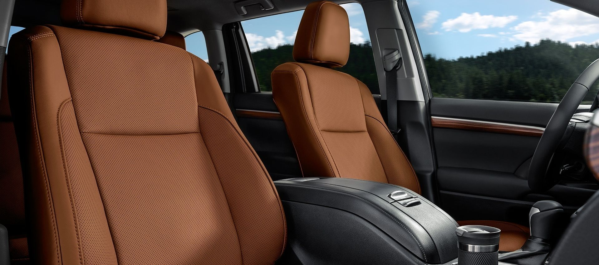 The 2019 Toyota Highlander's Supple Seating Options