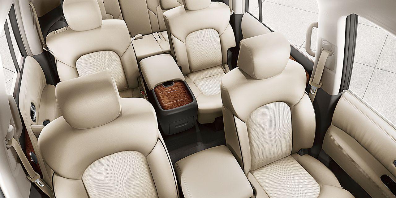 2019 Nissan Armada Seating