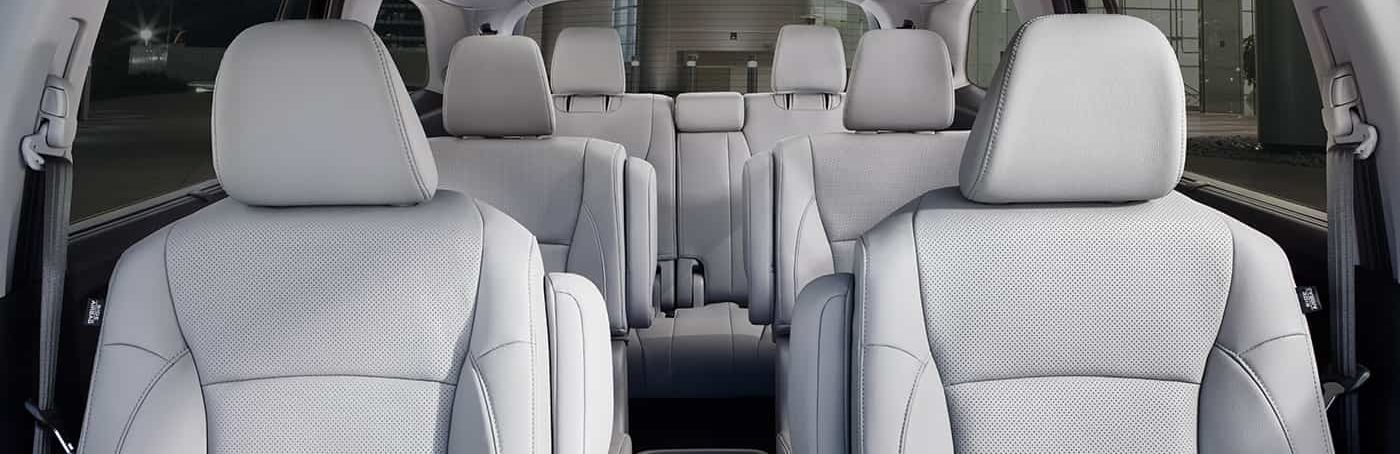 Ample Space in the Honda Pilot