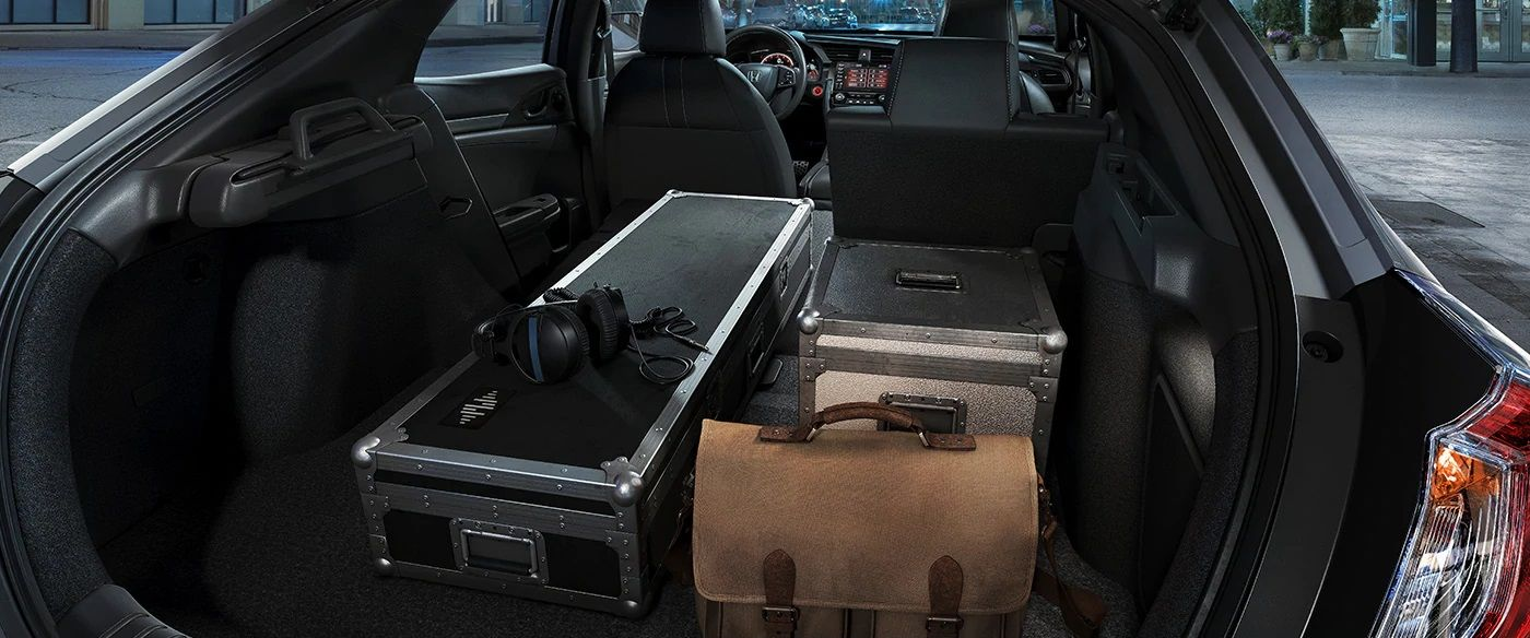 2019 Honda Civic Hatchback Storage