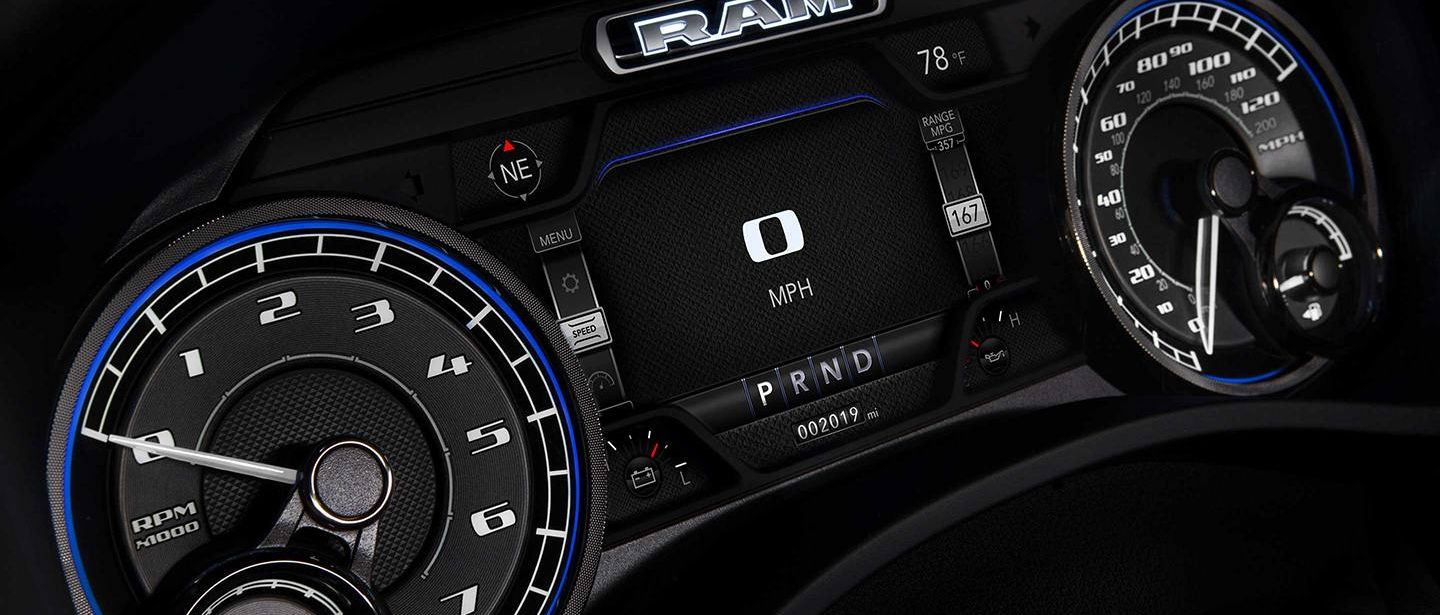 Modern Design Touches in the 2019 Ram 1500