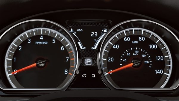 View Important Vehicle Information as You're Cruising in the Versa