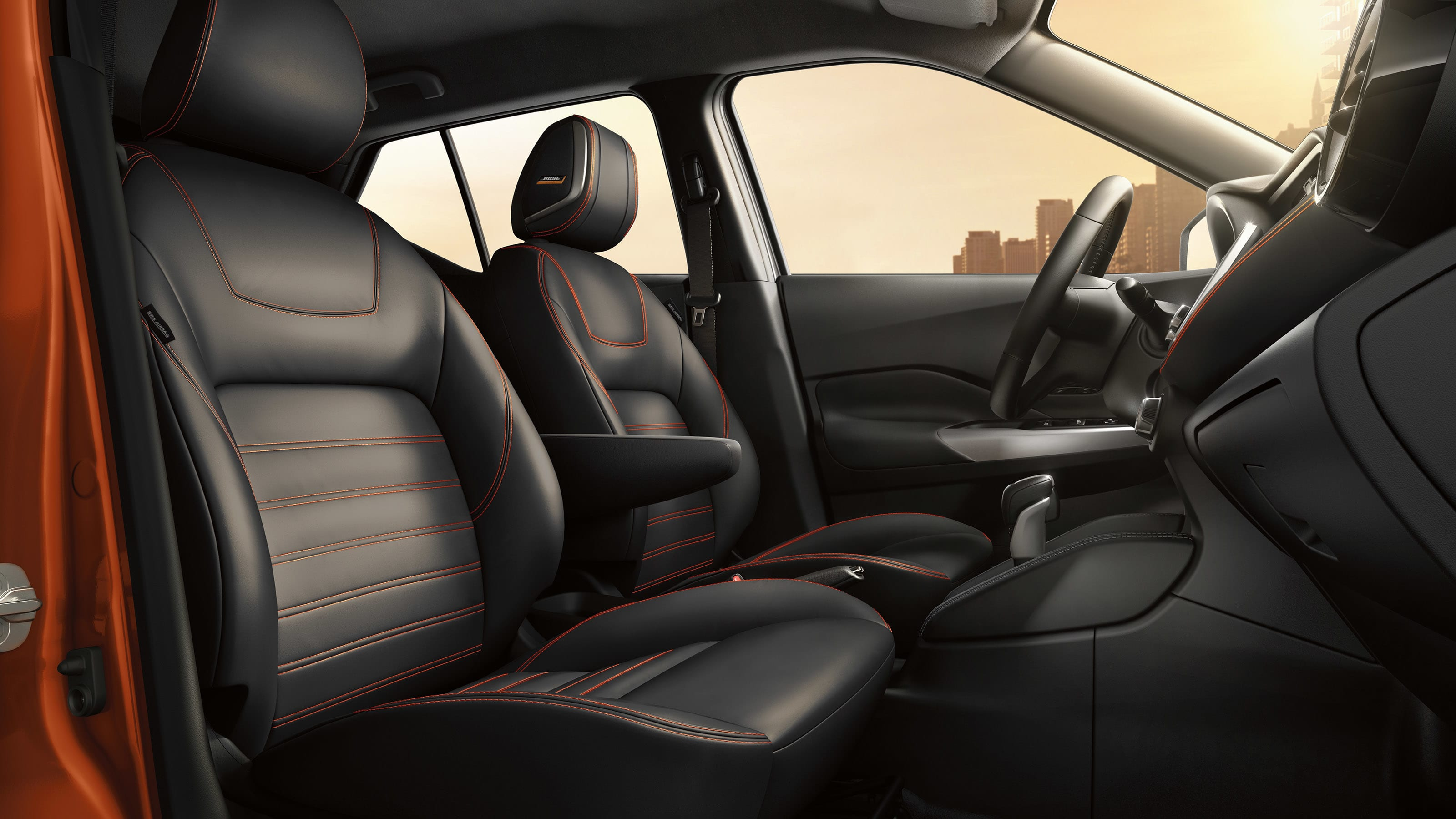 Interior of the 2019 Nissan Kicks