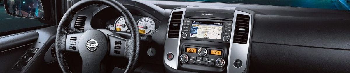 2019 Nissan Frontier Center Console