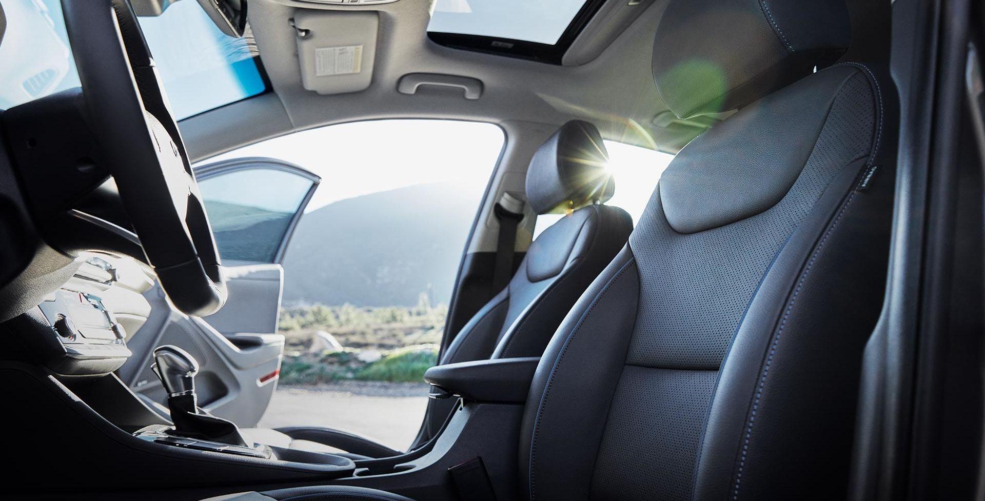 Comfortable Seats in the Hyundai Ioniq Hybrid