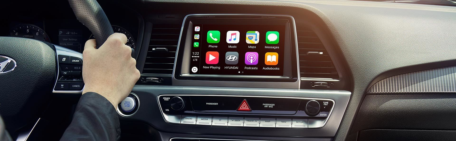 Apple CarPlay in the Hyundai Sonata