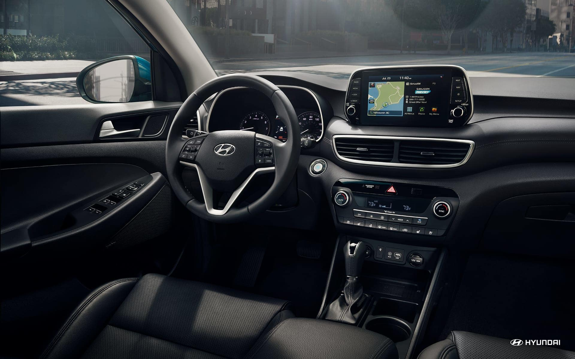 Tech-Loaded Interior of the 2019 Tucson