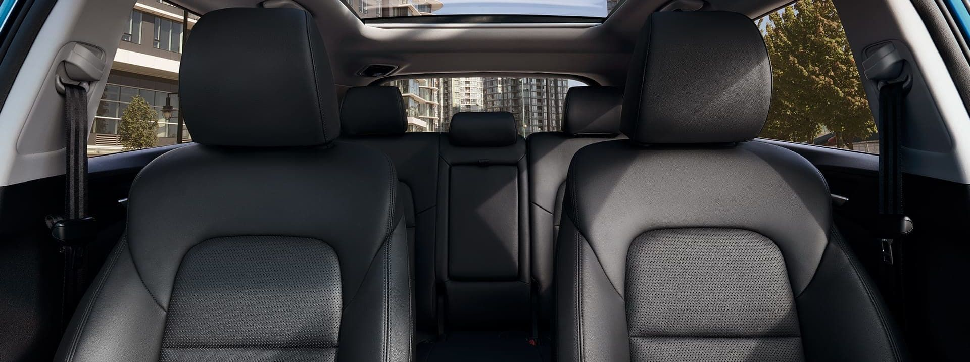 Ample Passenger Space in the 2019 Tucson