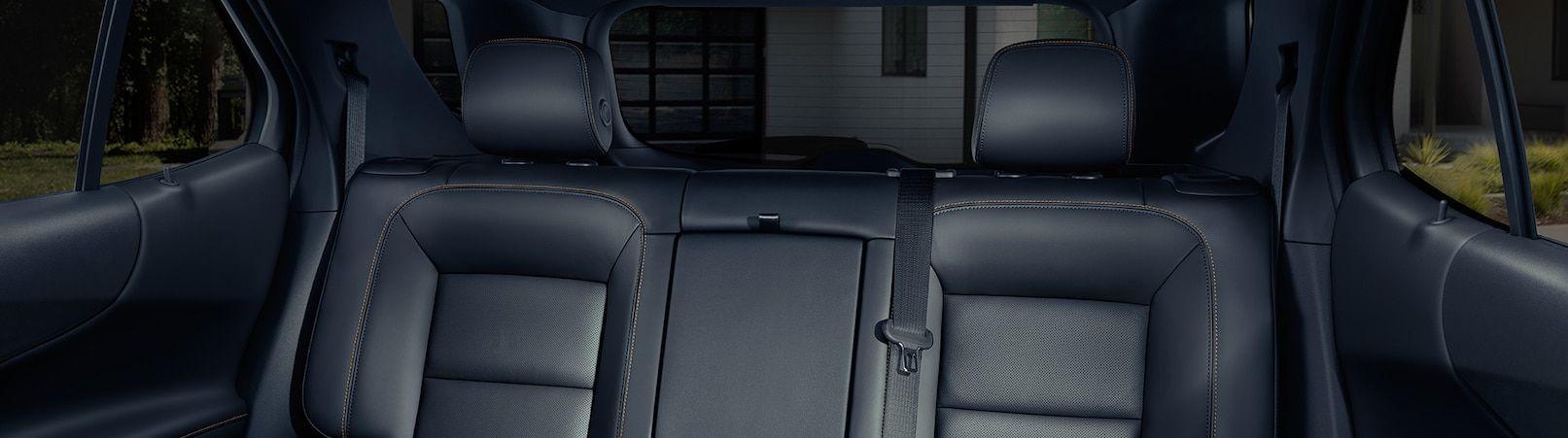 Cozy Rear Seats in the 2019 Equinox
