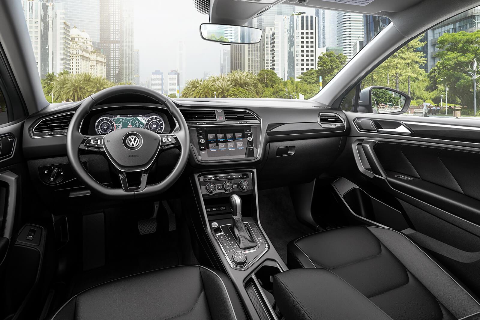 Interior of the 2019 Volkswagen Tiguan