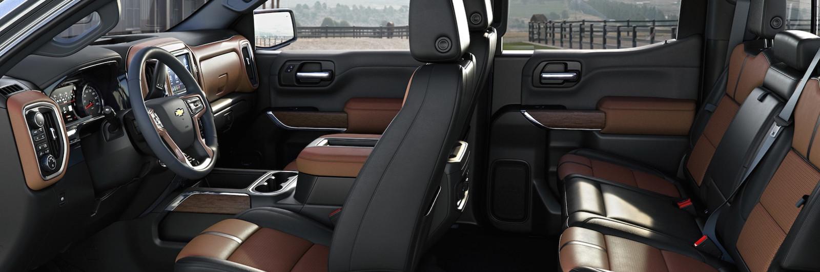 Interior of the Chevrolet Silverado 1500
