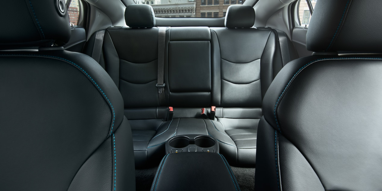 Rear Seat of the 2019 Volt