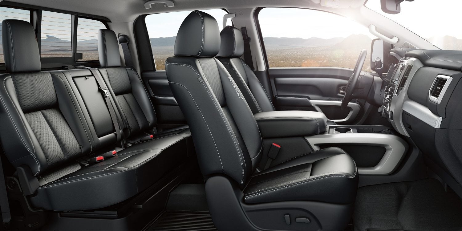 Available Black Seats in the 2019 Titan