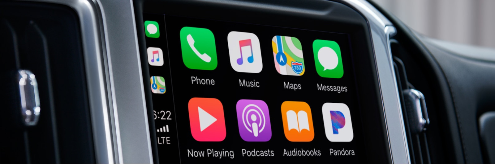 Standard Apple CarPlay in the 2019 Silverado 1500