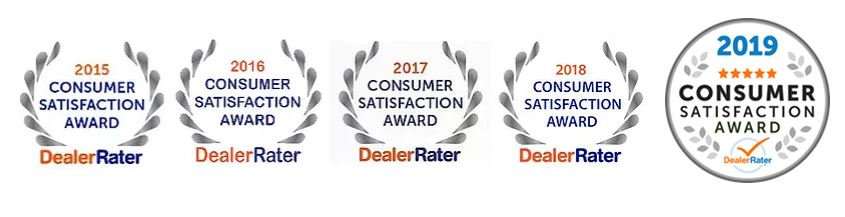 DealerRater Consumer Satisfaction Awards