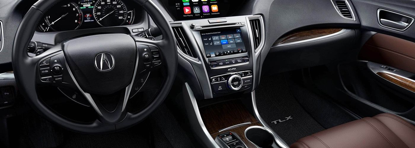 2019 Acura TLX Front-Row Amenities