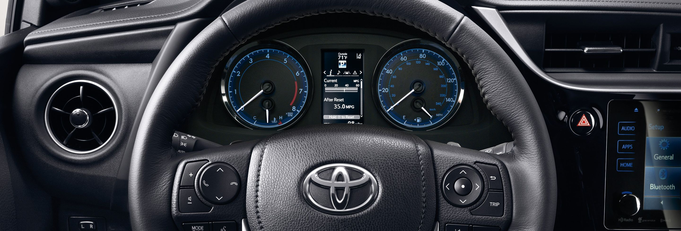 Enjoy the Journey in the 2019 Corolla