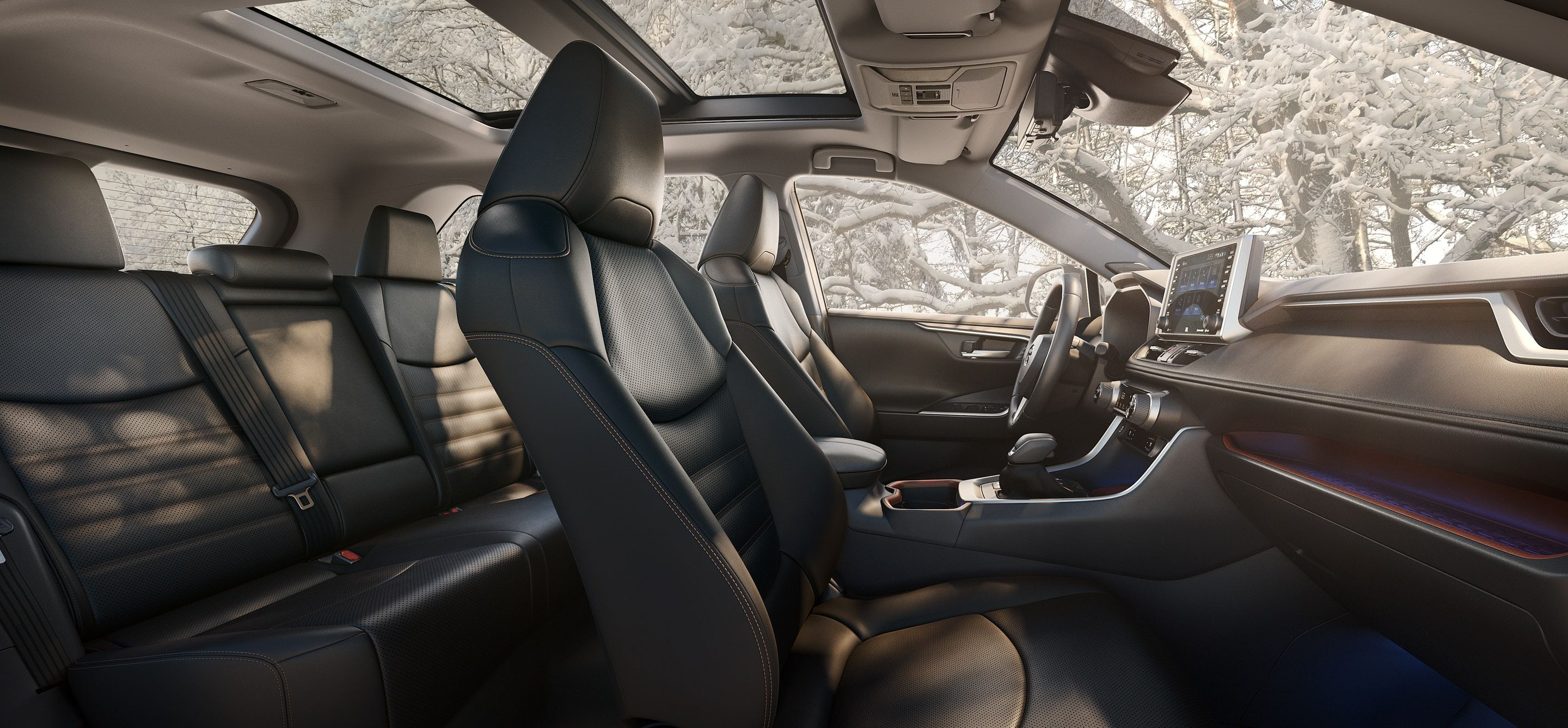 The Expansive Cabin of the 2019 Toyota RAV4