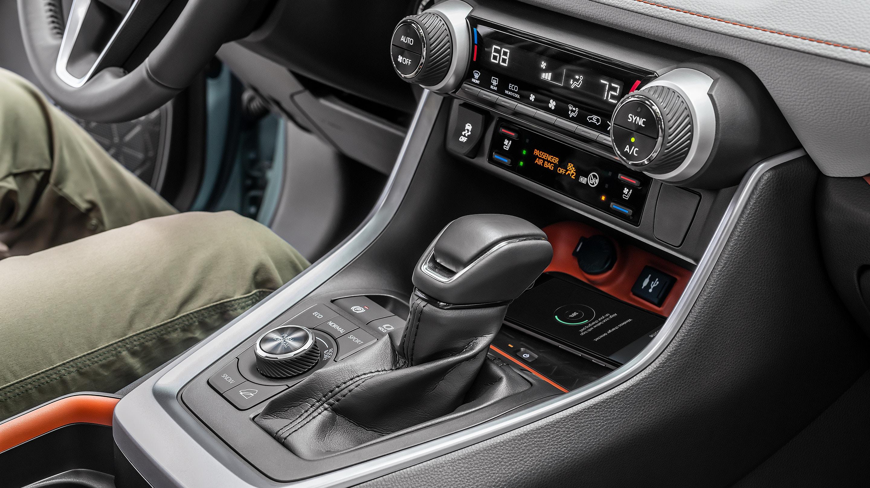 2019 Toyota RAV4 Center Stack