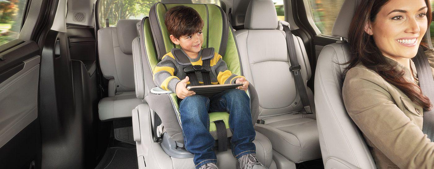 Versatile Seating in the 2019 Honda Odyssey