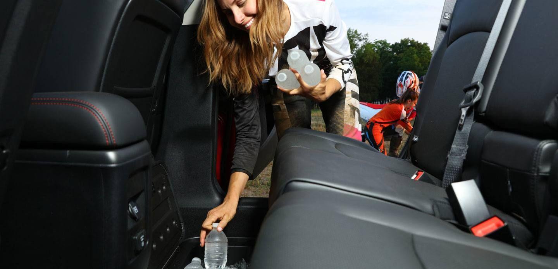 Plentiful Storage in the 2018 Dodge Journey