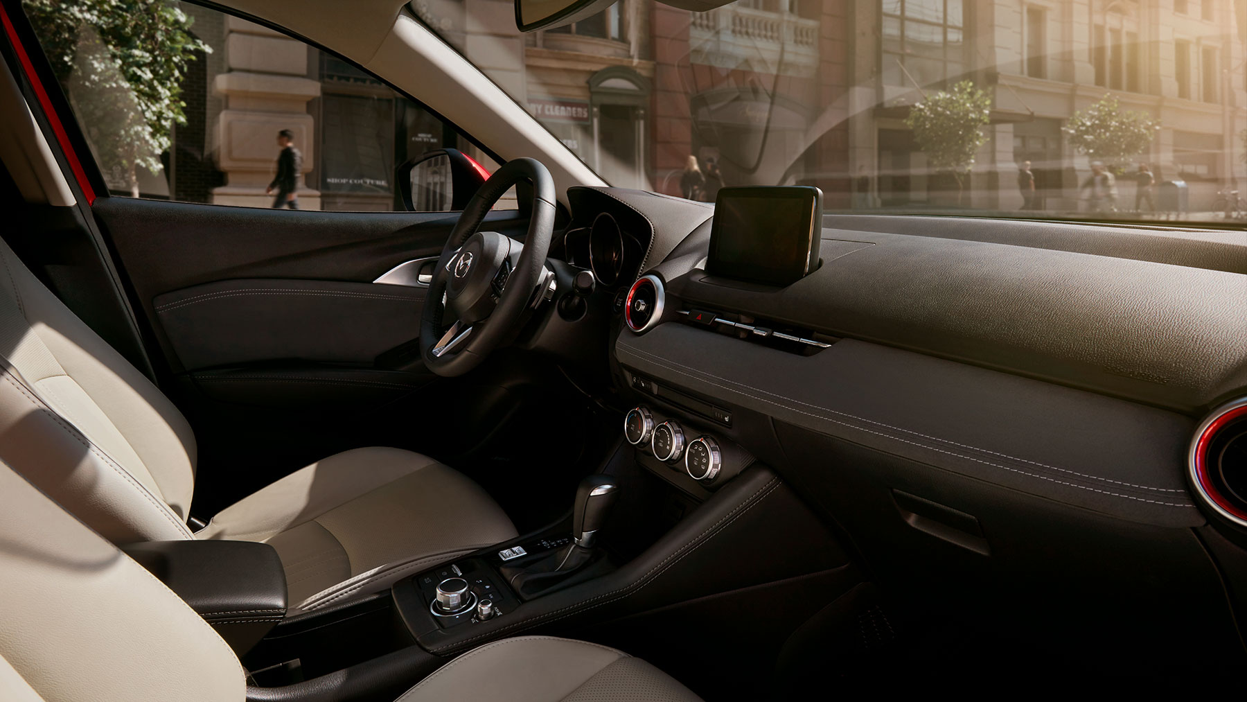 Interior of the 2019 Mazda CX-3