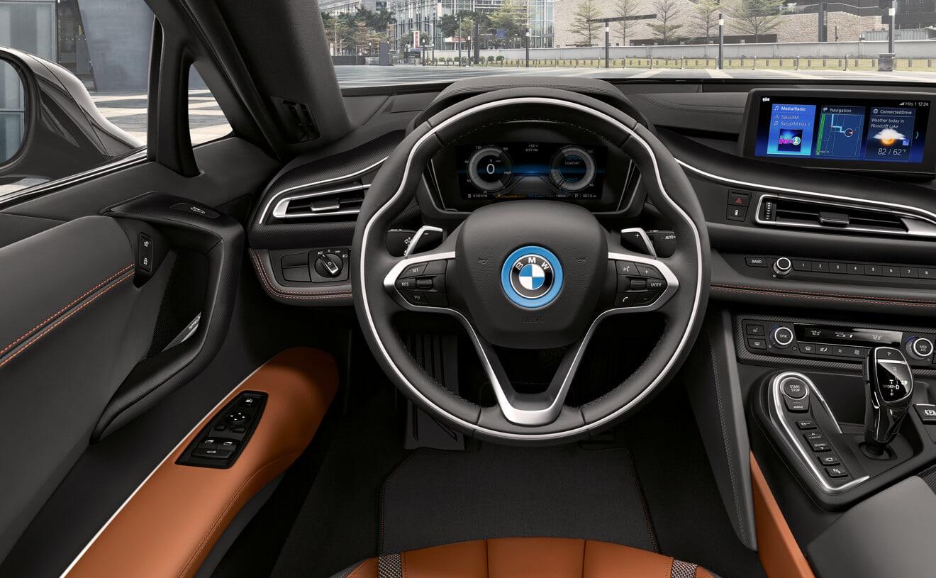 2019 BMW i8 Dashboard