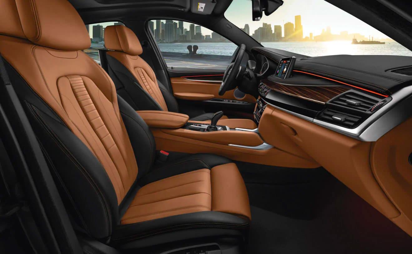 2019 BMW X6 Seating