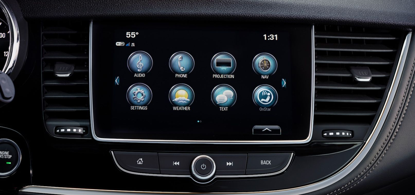 Infotainment in the 2019 Buick Encore