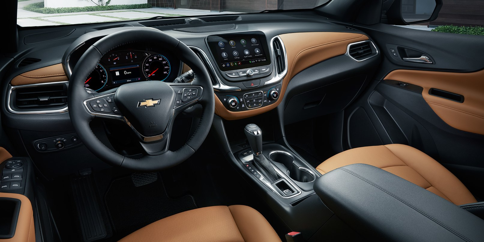 Cockpit of the Chevrolet Equinox