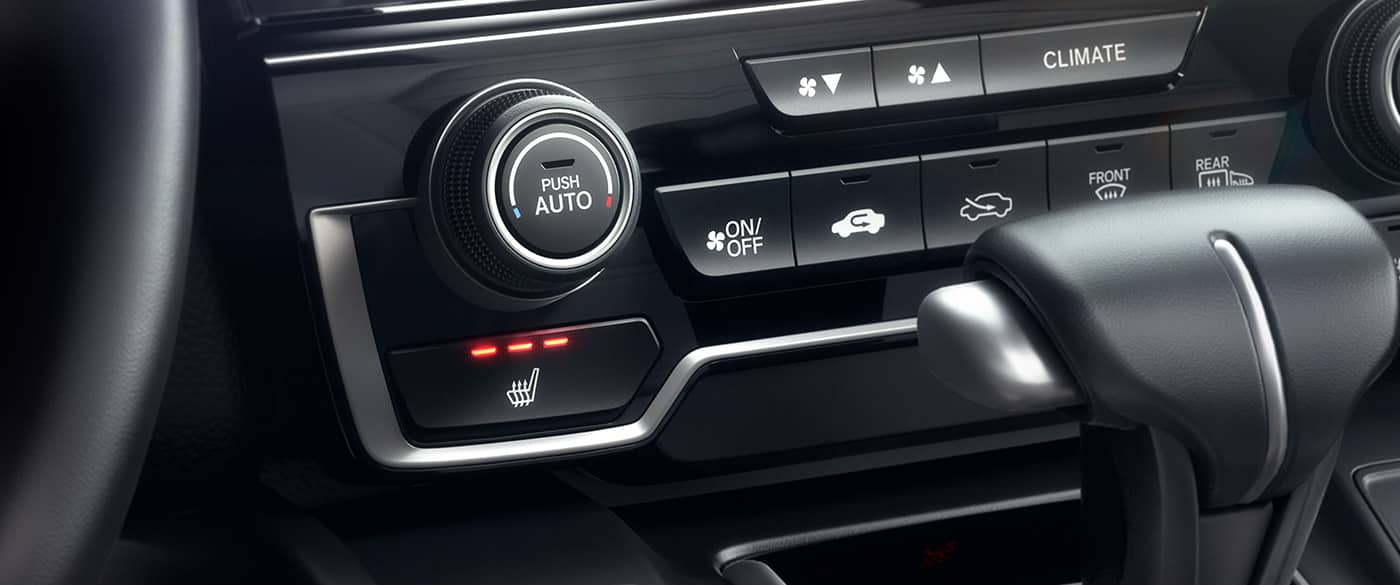Climate Control in the Honda CR-V