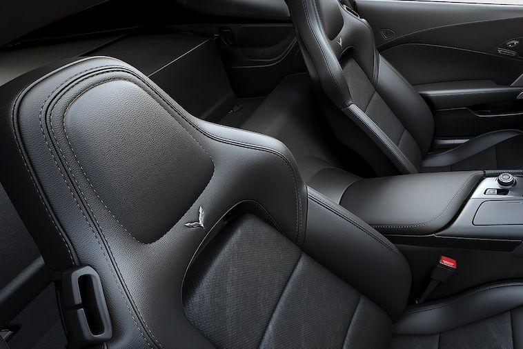 2019 Chevrolet Corvette Leather Detailing