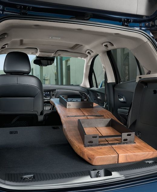 Cargo Space of the 2019 Trax