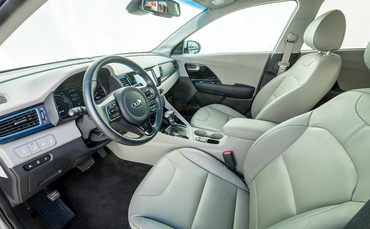 Interior of the 2019 Kia Niro