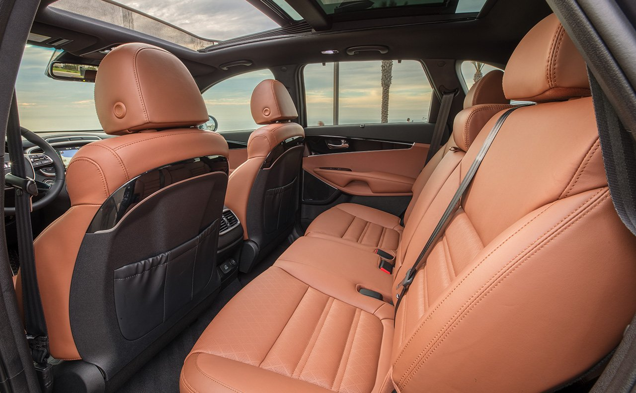 Luxurious Seating Options in the 2019 Sorento