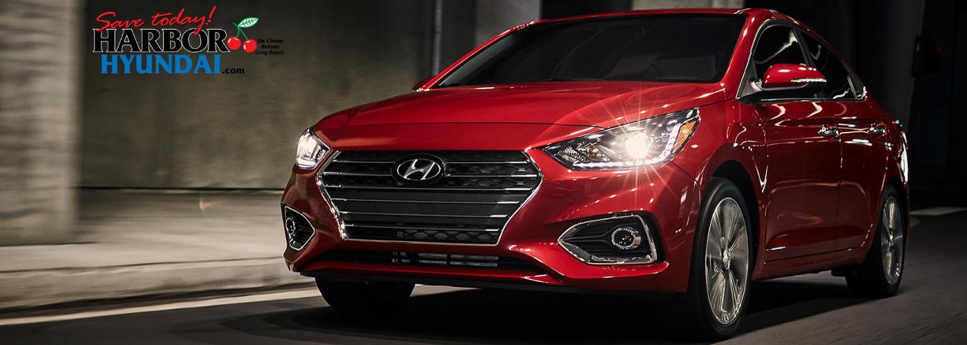 Hyundai Accent vs Nissan Versa Long Beach CA