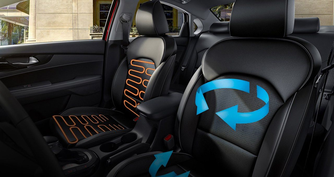 Kia Forte Heated and Ventilated Front Seats
