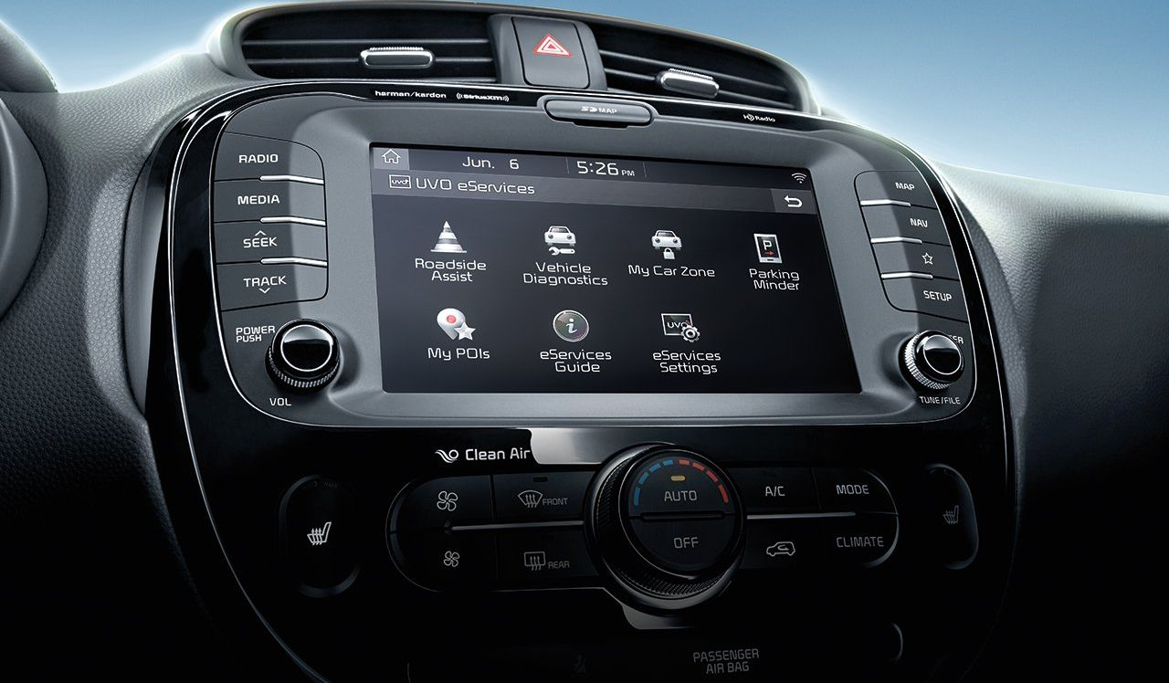 Infotainment in the 2019 Soul