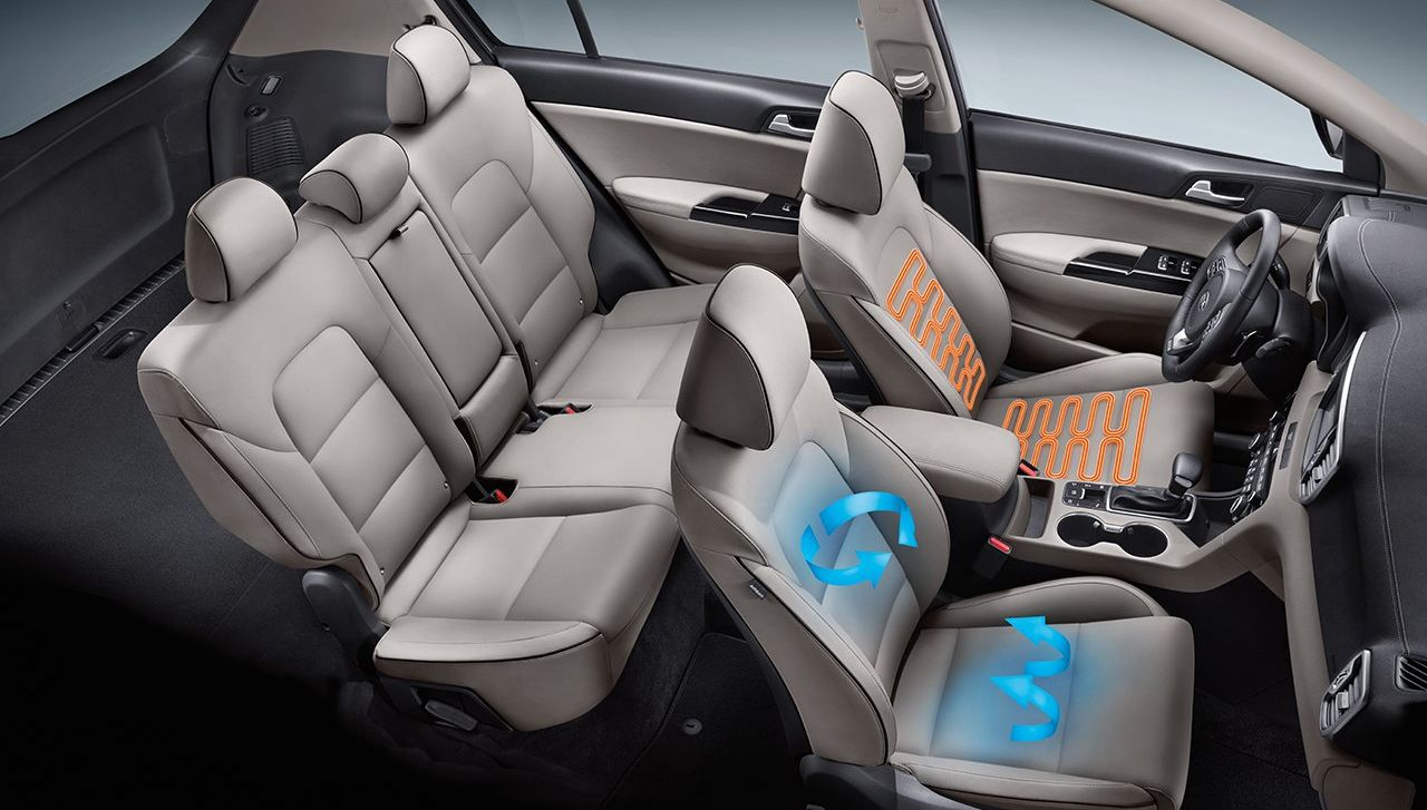 Climate-Controlled Front Seats in the 2019 Sportage