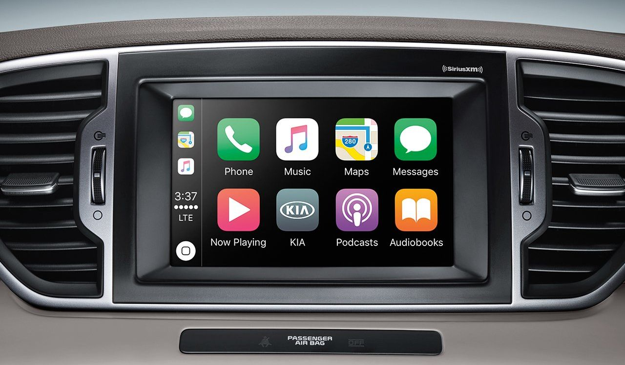 Apple CarPlay in the Kia Sportage